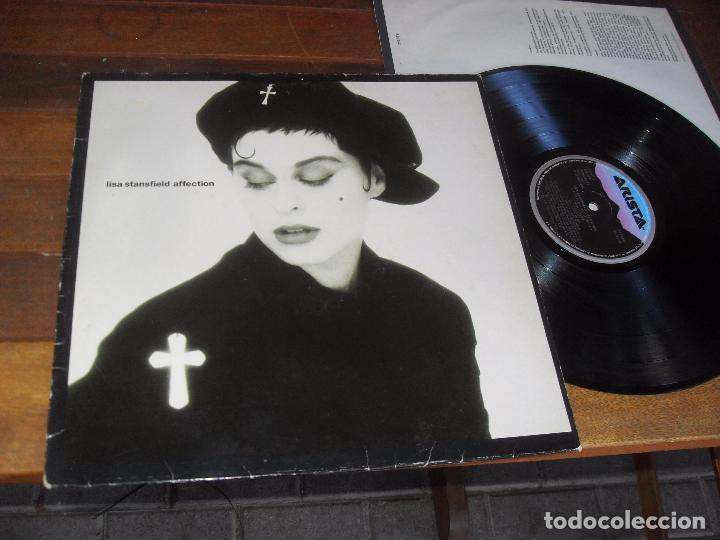 LISA STANSFIELD LP. AFFECTION. MADE IN SPAIN. 1989 (Música - Discos - LP Vinilo - Pop - Rock - New Wave Extranjero de los 80)