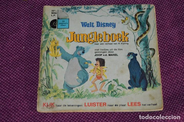 Discos de vinilo: ANTIGUO LOTE - 5 DISCOS CUENTOS INFANTILES ANTIGUOS - WALT DISNEY - AÑOS 60 - VINTAGE - HAZ OFERTA - Foto 2 - 102363075