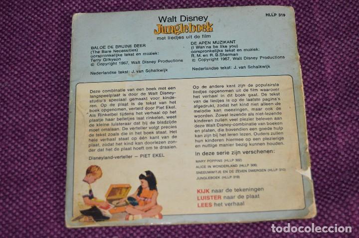 Discos de vinilo: ANTIGUO LOTE - 5 DISCOS CUENTOS INFANTILES ANTIGUOS - WALT DISNEY - AÑOS 60 - VINTAGE - HAZ OFERTA - Foto 3 - 102363075