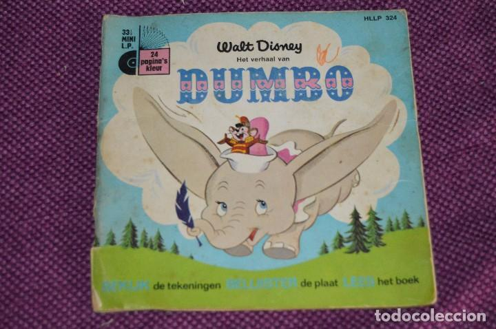 Discos de vinilo: ANTIGUO LOTE - 5 DISCOS CUENTOS INFANTILES ANTIGUOS - WALT DISNEY - AÑOS 60 - VINTAGE - HAZ OFERTA - Foto 4 - 102363075