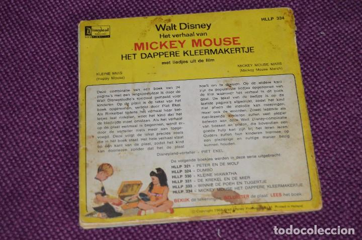 Discos de vinilo: ANTIGUO LOTE - 5 DISCOS CUENTOS INFANTILES ANTIGUOS - WALT DISNEY - AÑOS 60 - VINTAGE - HAZ OFERTA - Foto 7 - 102363075