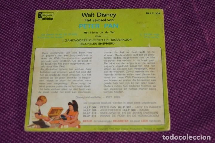 Discos de vinilo: ANTIGUO LOTE - 5 DISCOS CUENTOS INFANTILES ANTIGUOS - WALT DISNEY - AÑOS 60 - VINTAGE - HAZ OFERTA - Foto 11 - 102363075