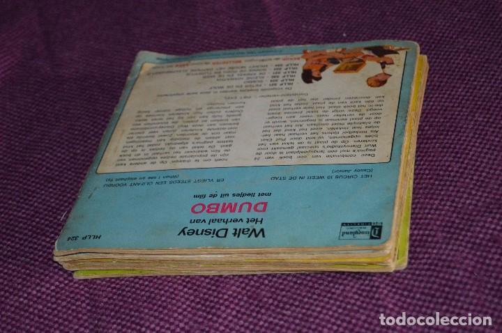 Discos de vinilo: ANTIGUO LOTE - 5 DISCOS CUENTOS INFANTILES ANTIGUOS - WALT DISNEY - AÑOS 60 - VINTAGE - HAZ OFERTA - Foto 20 - 102363075