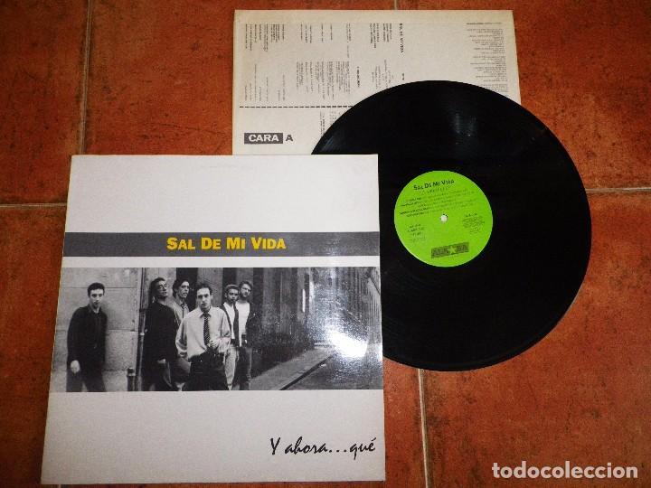 SAL DE MI VIDA Y AHORA QUE LP VINILO AÑO 1993 ENCARTE 10 TEMAS MOVIDA TRASTOS POLANSKI Y EL ARDOR (Música - Discos - LP Vinilo - Grupos Españoles de los 90 a la actualidad)