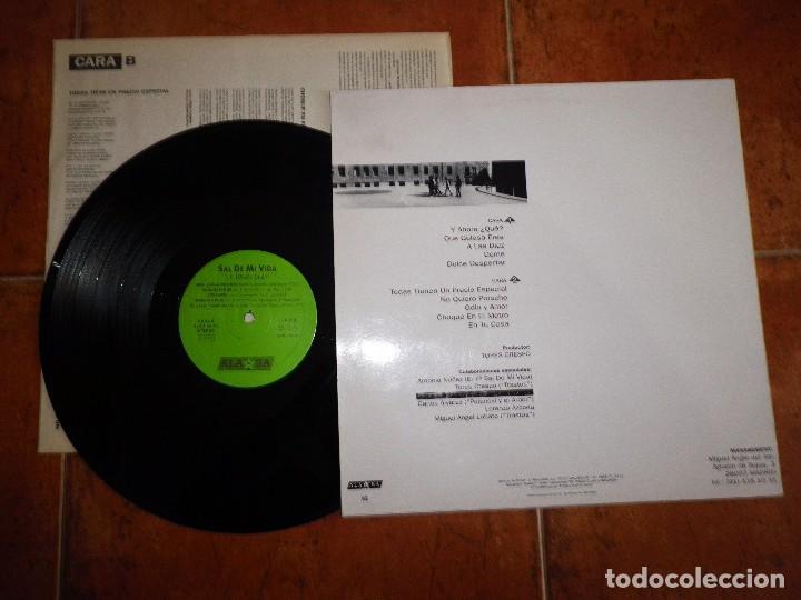 Discos de vinilo: SAL DE MI VIDA Y Ahora que LP VINILO AÑO 1993 ENCARTE 10 TEMAS MOVIDA TRASTOS POLANSKI Y EL ARDOR - Foto 2 - 102367295