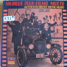 Dischi in vinile: LP - MUSIQUE POUR FILMS MUETS - IVORY SAM AND HIS PIANO (FRANCE, VOGUE 1971). Lote 102368931