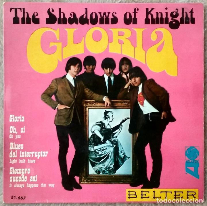 SHADOWS OF KNIGHT RARO EP GARAGE PUNK GLORIA+3 (Música - Discos de Vinilo - EPs - Pop - Rock Extranjero de los 50 y 60)