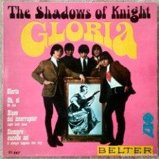 Discos de vinilo: SHADOWS OF KNIGHT RARO EP GARAGE PUNK GLORIA+3. Lote 102370419