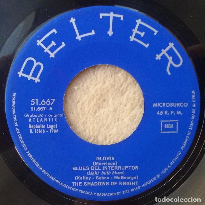 Discos de vinilo: SHADOWS OF KNIGHT RARO EP GARAGE PUNK GLORIA+3 - Foto 3 - 102370419