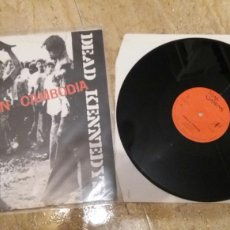 Discos de vinilo: DEAD KENNEDYS-HOLIDAY IN CAMBODIA+POLICE TRUCK- UK 1980.. Lote 102373670