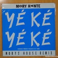 Discos de vinilo: MORY KANTE - YE KE YE KE - MAXI. Lote 102379728