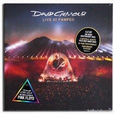 Discos de vinilo - DAVID GILMOUR - LIVE AT POMPEII 180g 4LP + libro de 24pg Box Set Nuevo y Precintado - 102380567