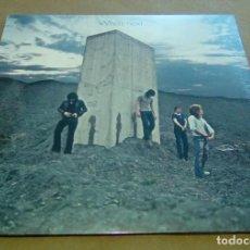 Discos de vinilo: THE WHO - WHOS NEXT (LP REEDICIÓN) NUEVO Y PRECINTADO. Lote 224392012