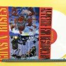 Discos de vinilo: GUNS AND ROSES LP APPETITE FOR DESTRUCTION ALTERNATIVE ALBUM VINILO COLOR BLANCO. Lote 160989933