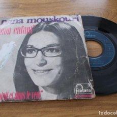 Dischi in vinile: NANA MOUSKOURI. MON ENFANT. . Lote 102432259