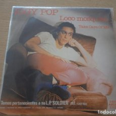 Discos de vinilo: IGGY POP LOCO MOSQUITO TAKE CARE OF ME MBE. Lote 102438919