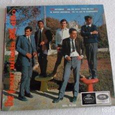Discos de vinilo: THE FOUR WINDS AND DITO - RECUERDA + 3 EP 1966. Lote 102441127