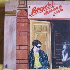 Discos de vinilo: LP - RAMONCIN - ARAÑANDO LA CIUDAD (SPAIN, HISPAVOX 1981, PORTADA DOBLE). Lote 102447751