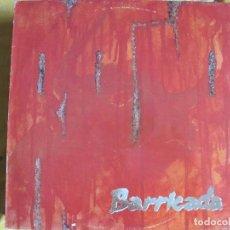Discos de vinilo: LP - BARRICADA - ROJO (SPAIN, MERCURY RECORDS 1988, CONTIENE ENCARTE). Lote 102451623
