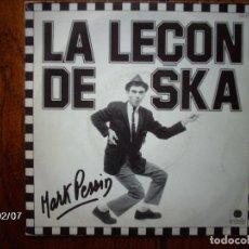 Discos de vinilo: MARK PESSIN - LA LEÇON DE SKA + PATE D´PORC. Lote 102455075