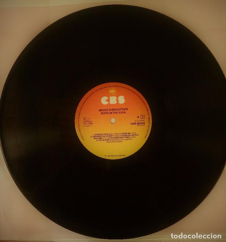 Discos de vinilo: BRUCE SPRINGSTEEN BORN IN THE USA VINILO LP - Foto 4 - 102466635
