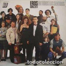 Discos de vinilo: EROS RAMAZZOTTI - EN TODOS LOS SENTIDOS - LP VINILO. Lote 102483579