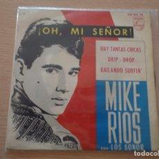 Discos de vinilo: EP MIKE RIOS OH SEÑOR 1964. Lote 102486399