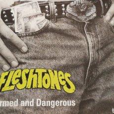 Discos de vinilo: THE FLESHTONES ARMED AND DANGEROUS MAXI 1991 UK. Lote 102487591