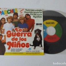 Discos de vinilo: PARCHIS. LA GUERRA DE LOS NIÑOS. BELTER, 1980. VINILO EN EXCELENTE ESTADO.. Lote 102488599
