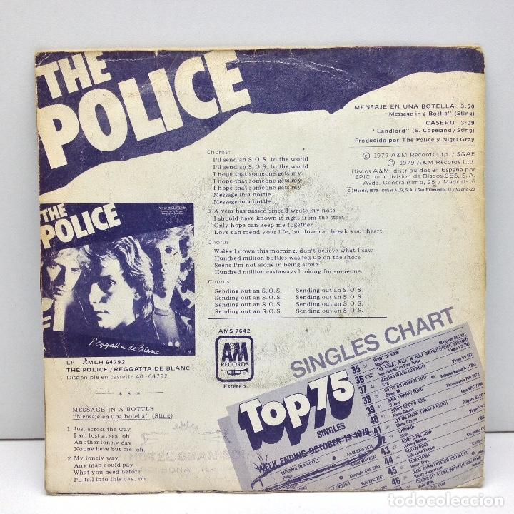 Discos de vinilo: THE POLICE - SINGLE - VINILO - 1979 - Foto 2 - 102502835