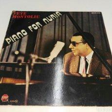 Discos de vinilo: TETE MONTOLIU- LP PIANO FOR NURIA- MPS 1982 ESPAÑA 5. Lote 102529735