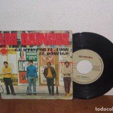 Discos de vinilo: LOS BRINCOS 7´´ MEGA RARE VINTAGE SPAIN 1968. Lote 102545063