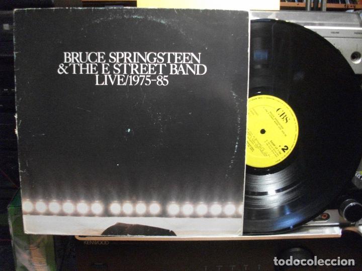 BRUCE SPRINGSTEEN & THE E. STREET BANDD - LIVE 1975 - 85 LIVE MAXI SPAIN 1986 PDELUXE (Música - Discos de Vinilo - Maxi Singles - Jazz, Jazz-Rock, Blues y R&B)