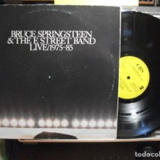 Discos de vinilo: BRUCE SPRINGSTEEN & THE E. STREET BANDD - LIVE 1975 - 85 LIVE MAXI SPAIN 1986 PDELUXE. Lote 102545319