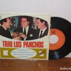 Discos de vinilo: LOS PANCHOS 7´´ MEGA RARE EXTENDED PLAY SPAIN 1967. Lote 102546451