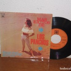 Discos de vinilo: LOS PANCHOS 7´´ MEGA RARE EXTENDED PLAY SPAIN 1966. Lote 102546823