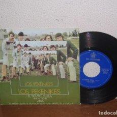 Discos de vinilo: LOS PEKENIKES 7´´ MEGA RARE VINTAGE SPAIN 1968. Lote 102547383