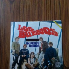 Discos de vinilo: LOS BUENOS. SINGLE 1969, OH PRETTY WOMAN.. Lote 102561674