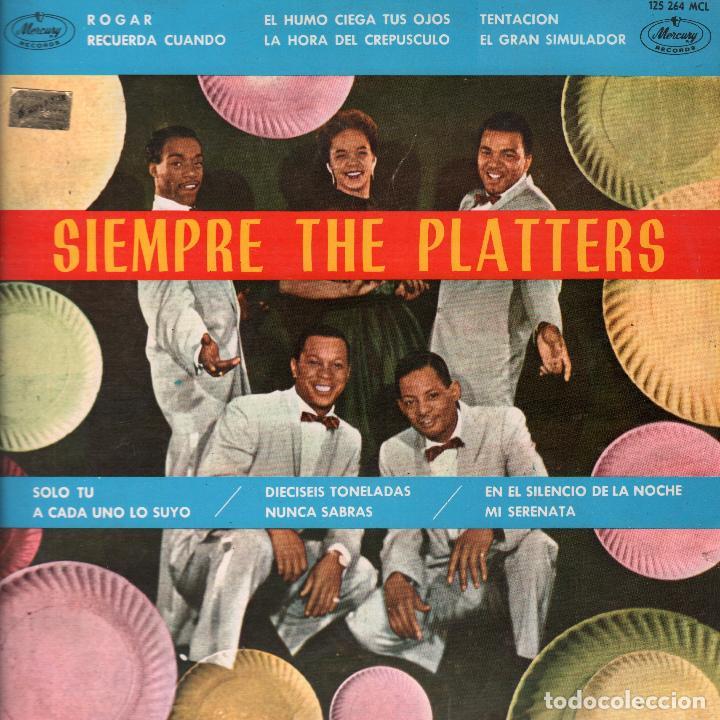 SIEMPRE THE PLATTERS LP MERCURY DE 1962 RF-4153 (Música - Discos - LP Vinilo - Funk, Soul y Black Music)