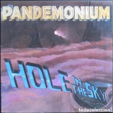 Discos de vinilo: PANDEMONIUM - HOLE IN THE SKY - LP NETHERLANDS 1985 - HEAVY METAL . Lote 102586911