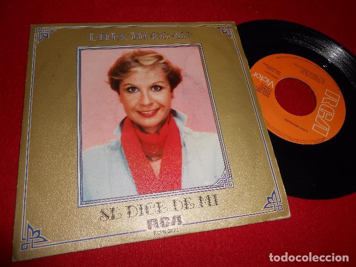 LINA MORGAN SE DICE DE MI/VIEJO MADRID SINGLE 7'' 1982 RCA (Música - Discos - Singles Vinilo - Bandas Sonoras y Actores)