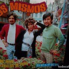 Discos de vinilo: MISMOS, LOS - DON JUAN + EL CAMINO DE PAPÁ (BELTER, 1970). Lote 102591043