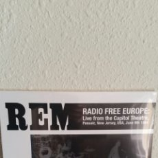 Discos de vinilo: DISCO VINILO LP REM RADIO FREE EUROPE NUEVO SIN ABRIR PRECINTADO. Lote 96752567
