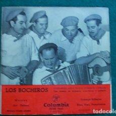 Discos de vinilo: SINGLE LOS BOCHEROS. Lote 102596823