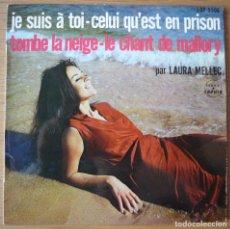 Discos de vinilo: LAURA MELLEC JE SUIS À TOI DISQUE SAPHIR 1962. Lote 102599635