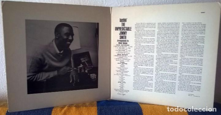 Discos de vinilo: JIMMY SMITH Bashin The Undepredictable / VERVE RECORDS MAS 90447 / Oliver Nelson / IMPRESO EN USA - Foto 2 - 102603007