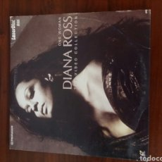 Discos de vinilo: DIANA ROSS THE VIDEO COLLECTION ONE WOMAN LASER DISC. Lote 102608558
