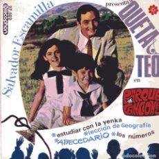 Discos de vinilo: QUETA Y TEO / LOS NUMEROS + 3 (EP 1966). Lote 102618731