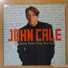 Discos de vinilo: JOHN CALE - WORDS FOR THE DYING - LP. Lote 102620266