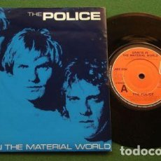 Discos de vinilo: THE POLICE / SPIRIT IN THE MATERIAL WORLD / LOW LIFE 1981 + TEMA INEDITO, UK EDIT. - EXC. Lote 102621119